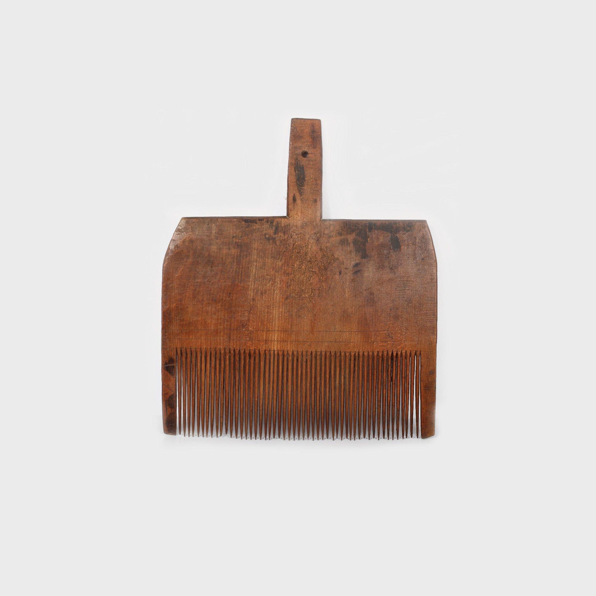 Pieptăne pentru selectat fibre de lână, Bucovina, ultimul pătrar al sec. XIX