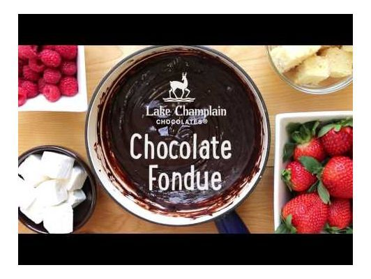 Chocolate Fondue #chocolatefonduerecipes