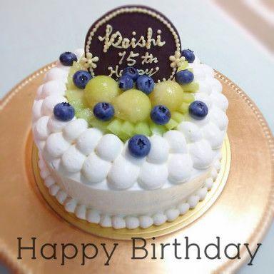 Ameba アメーバ バースデーケーキ 甘い スイーツ