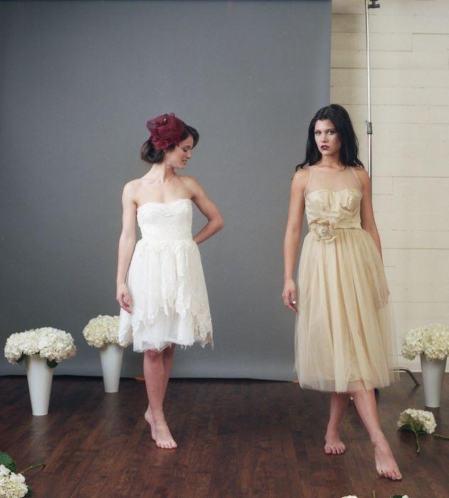 Ciarla Cheri Tulle gown in Antique Gold