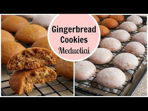 gingerbread cookies recipe with video meduoliai receptas su video