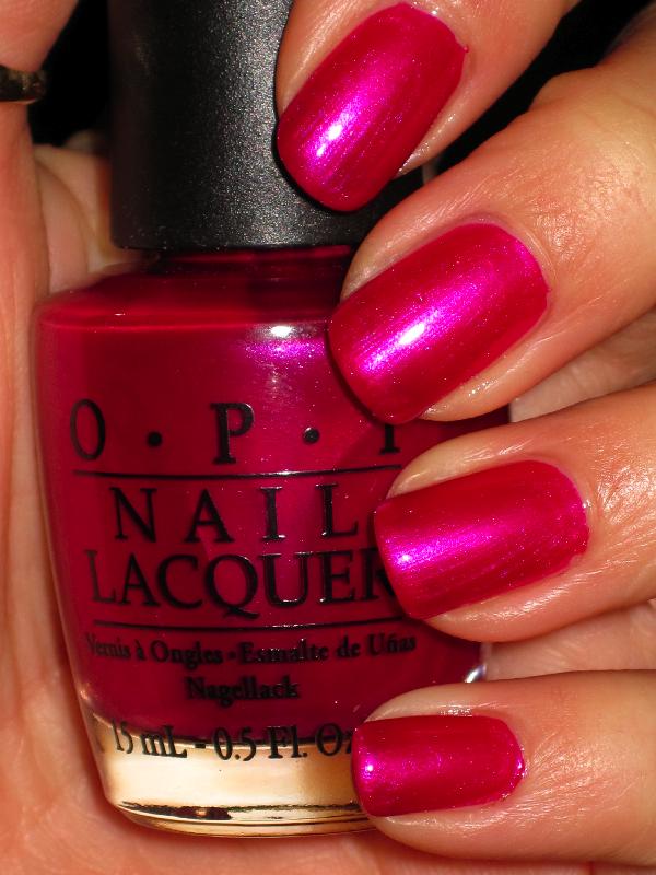 OPI Kinky in Helsinki... perhaps my favorite nail polish color ever ...