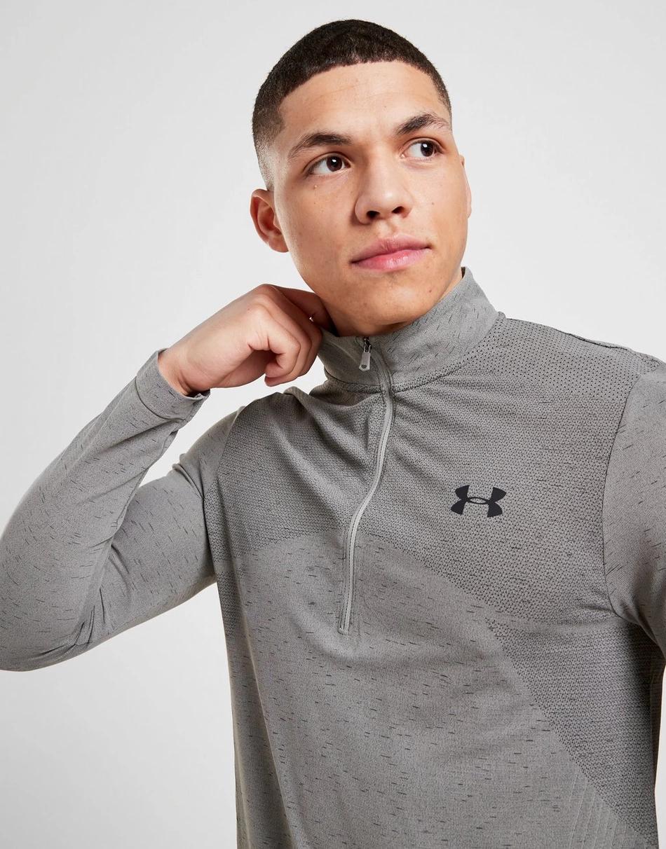 Buy Grey Under Armour Vanish 1/2 Zip Track Top Men's in
