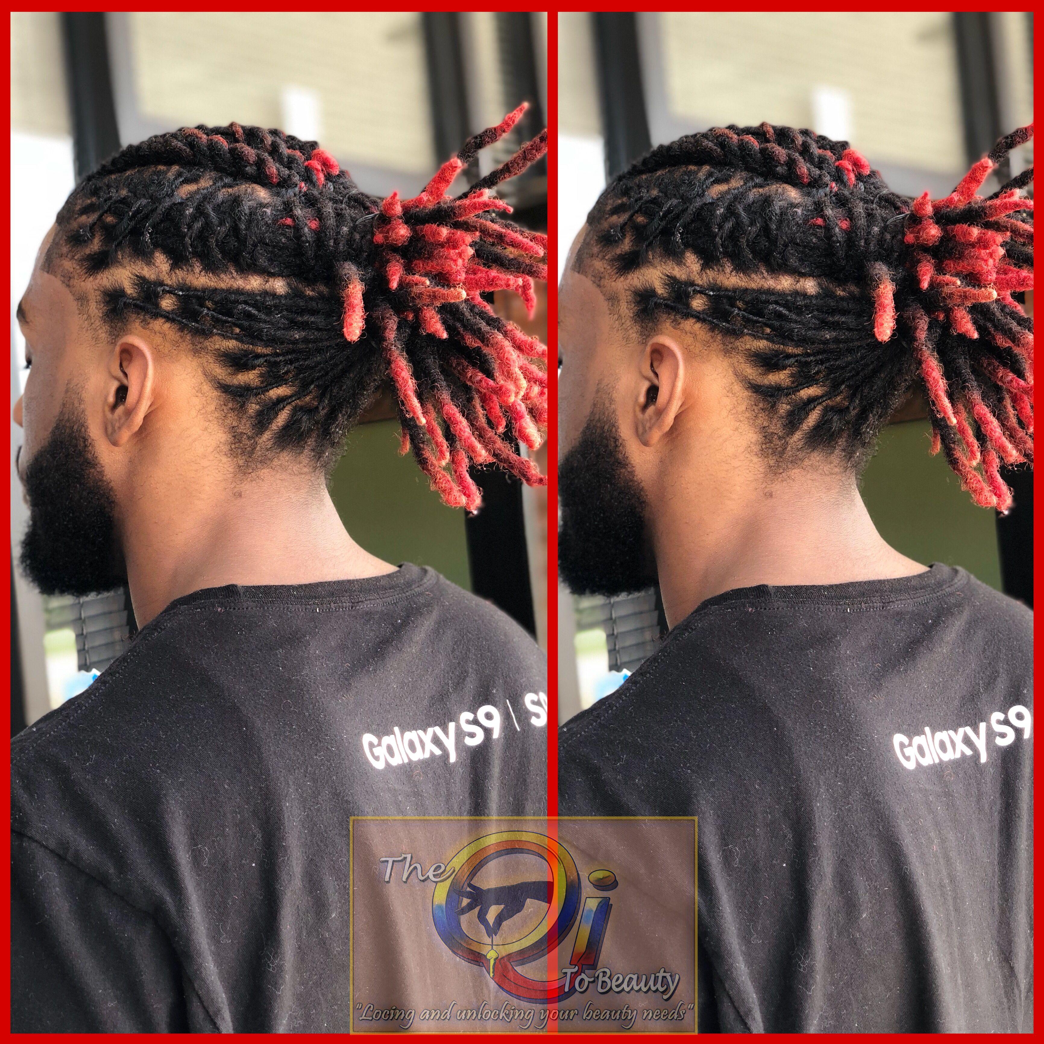 Loc Ponytail Dreadlock Hairstyles For Men Dreads Short Hair Hair Styles