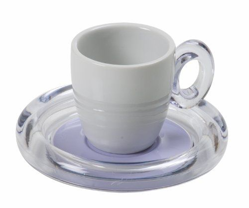SAVE $14 04 Omada 3 Oz Espresso Cups with Saucers Set of 6