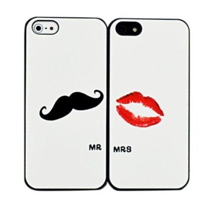 Mr & Mrs His and Hers Set of Two 2 iPhone 6/6 by StoneTechProducts