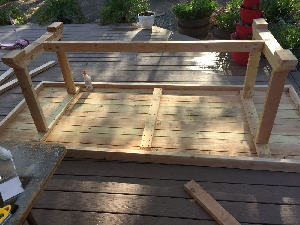 DIY Large Outdoor Dining Table Seats 1012 Outdoor