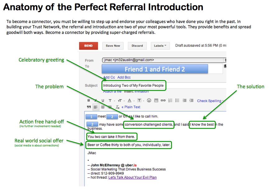 Company Referral Letter New The Anatomy Of A Perfect Referral Letter#linkedin #business #trust .