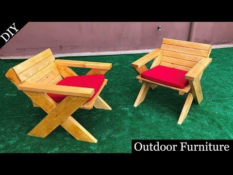 Diy Outdoor Chairs Tahta Koltuk Yapimi Youtube Diy Outdoor