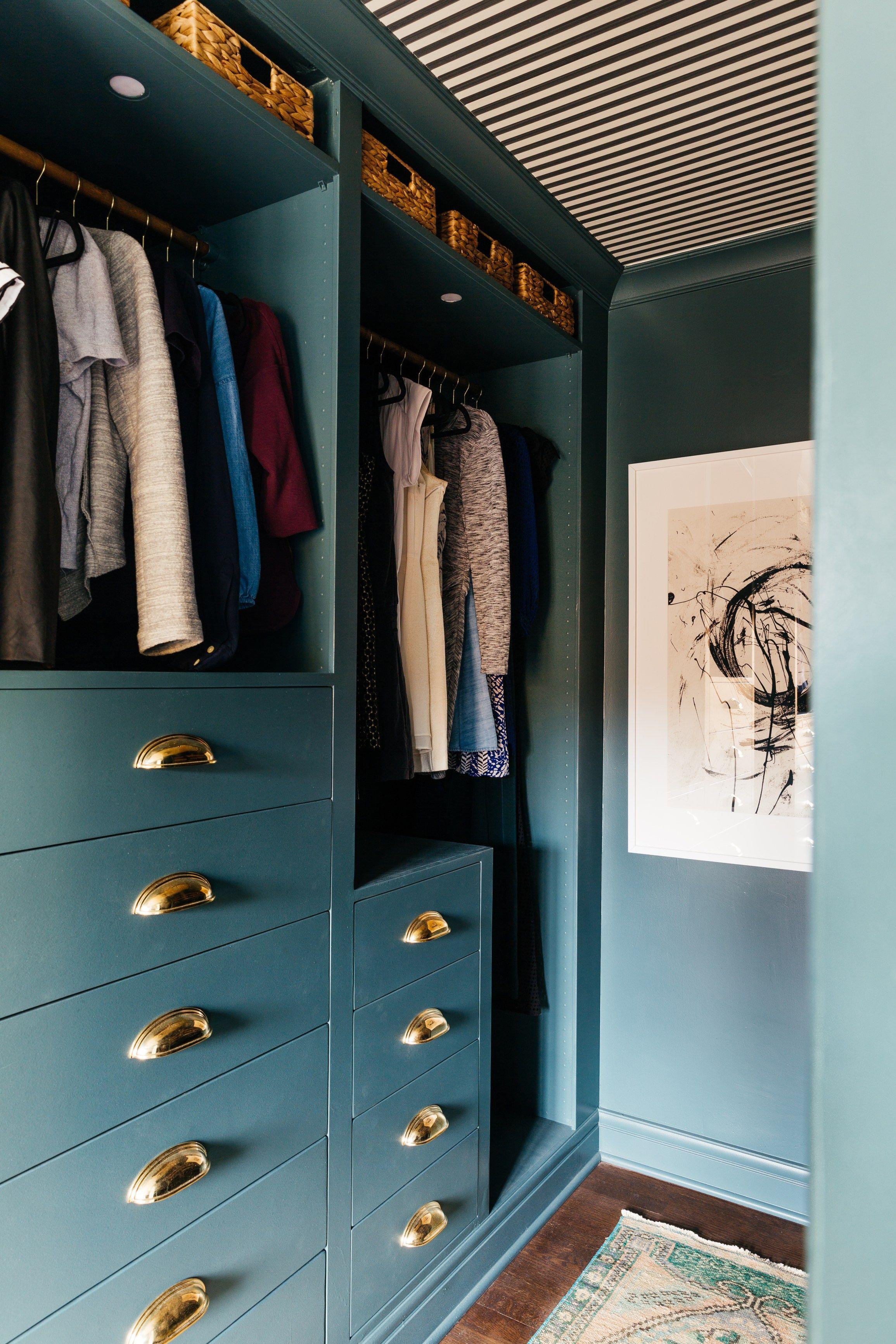 Hacking the IKEA Pax into a Fully Custom Closet