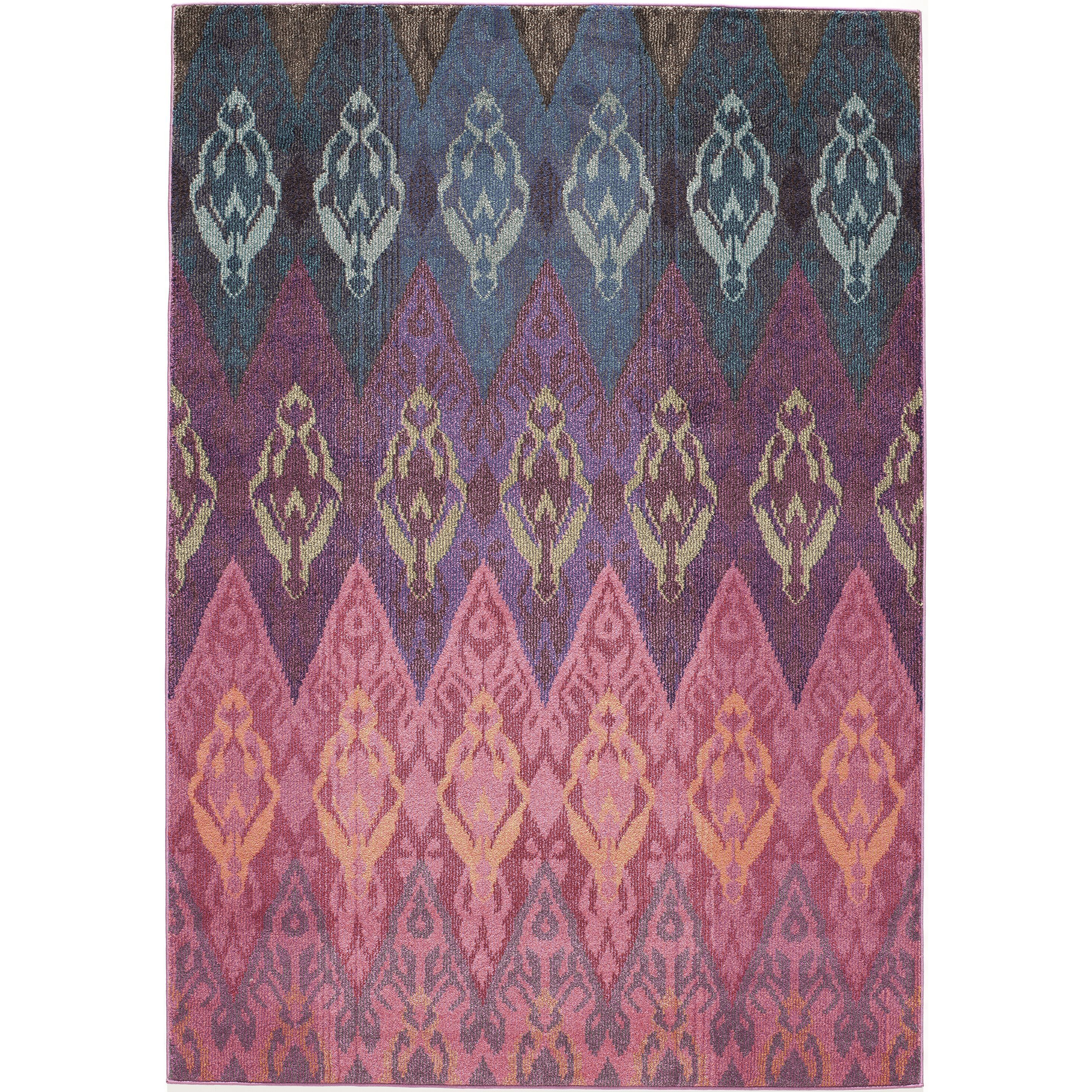 Bring classic style into your home with the Casa 8 Multi Rug. Featuring a beautiful Ikat pattern and rich colors, this rug will compliment a variety of decors.