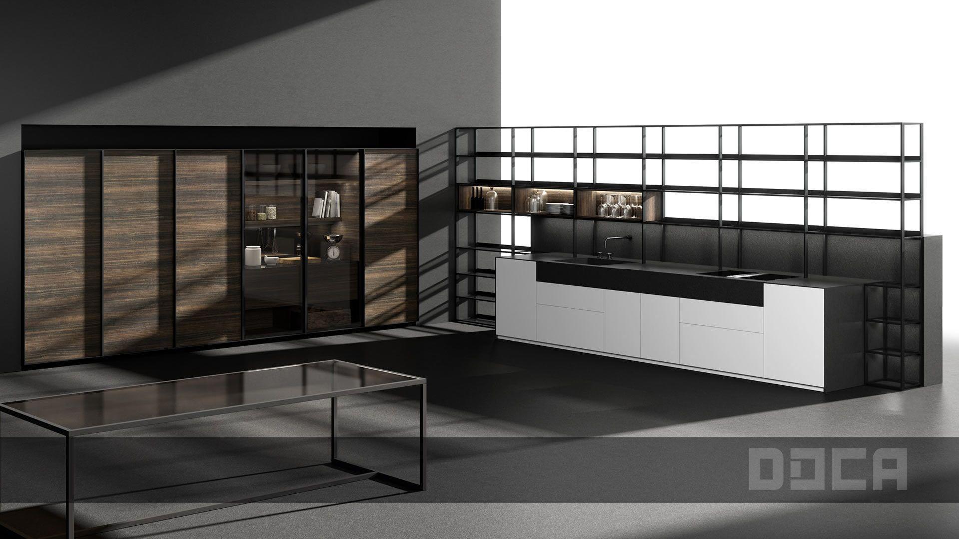 Http Www Doca Es En Products Contemporary Kitchens Item 581  # Muebles New Style Villa Tesei