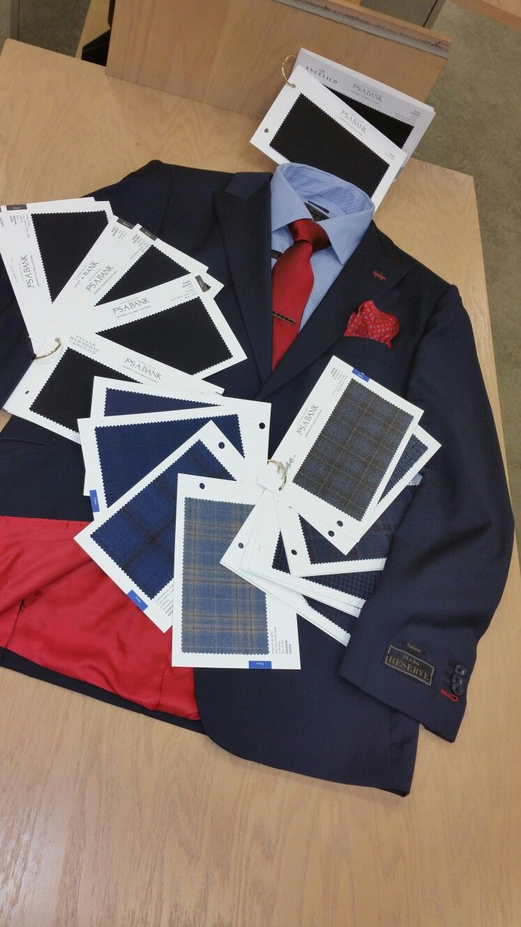 Custom made Suits at Jos.A.Bank Madison ave New York.
