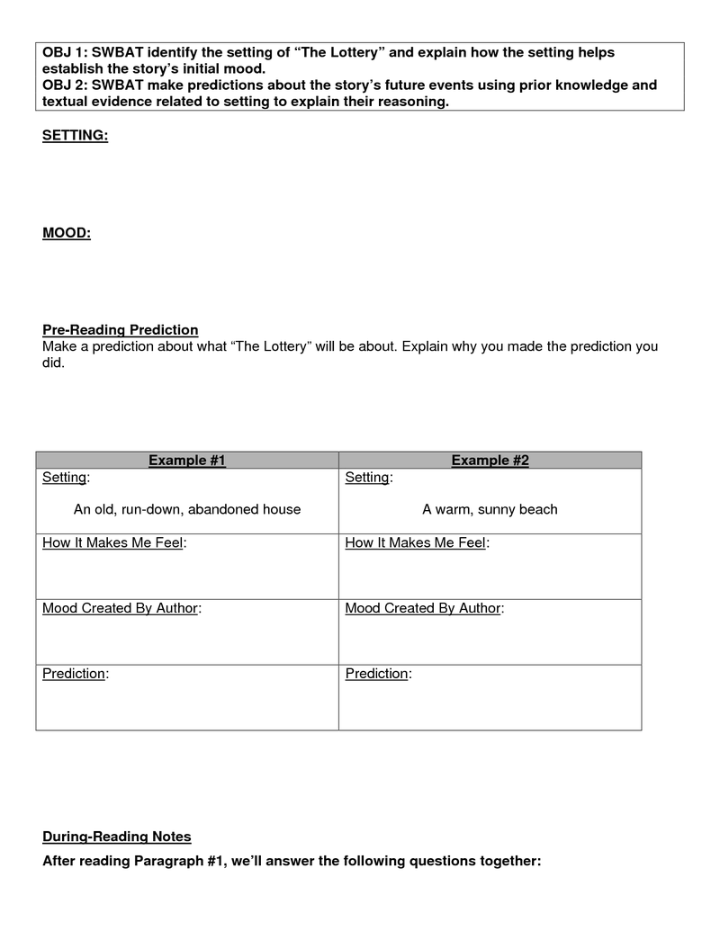Worksheets The Giver Worksheets the lottery lessons classroom giver pinterest worksheets lessons