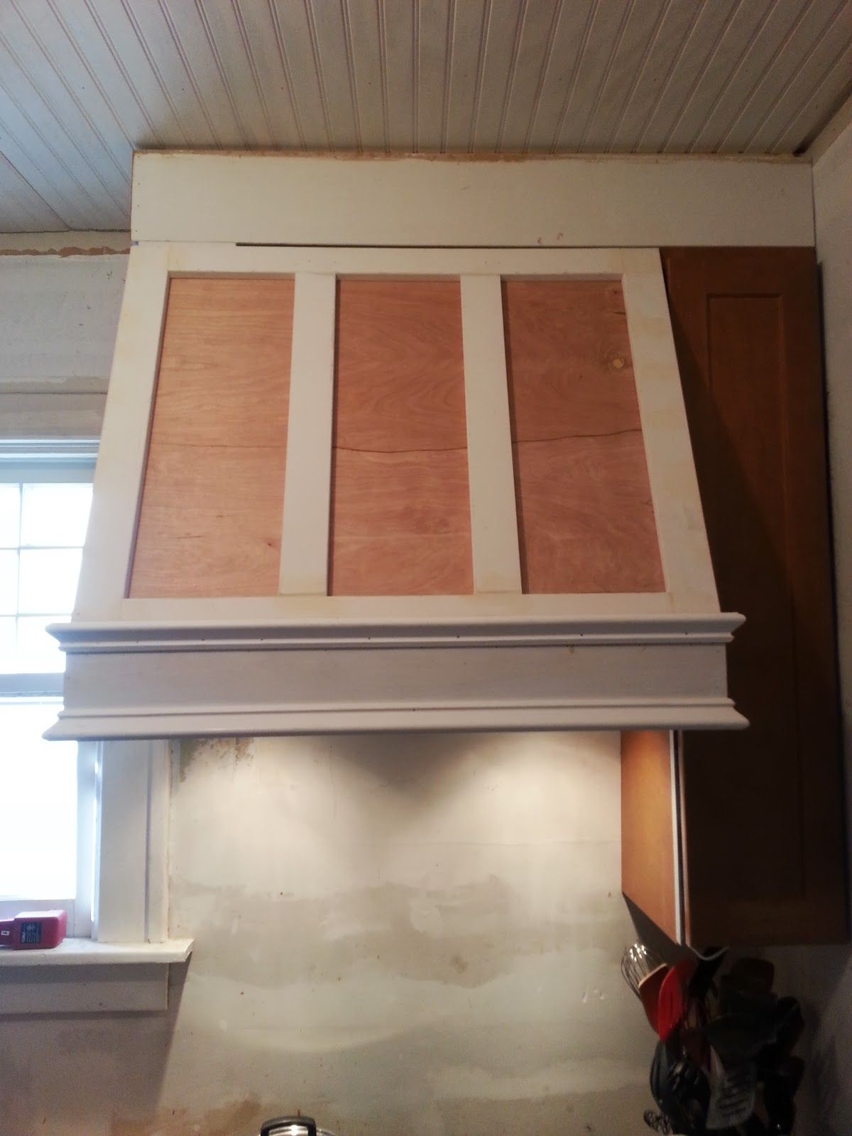 What style roof vent for range hood exhaust - Confessions Of A Diy Aholic How To Build A Shaker Style Range Hood Kitchen Vent Hoodkitchen