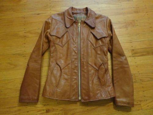 Vtg East West Musical Instruments Co Leather Jacket Mango Road Label Sz S Leather Jacket Jackets Fashion