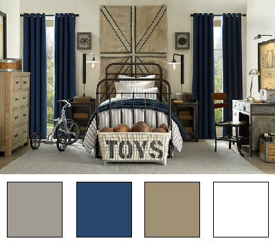 La chambre d 39 ado nuancier 20 d co en nuances combo pinterest kids rooms bedrooms and - Deco chambre ado garcon design ...