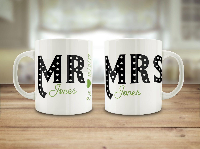 3a13e5e5e Mr and Mrs mugs