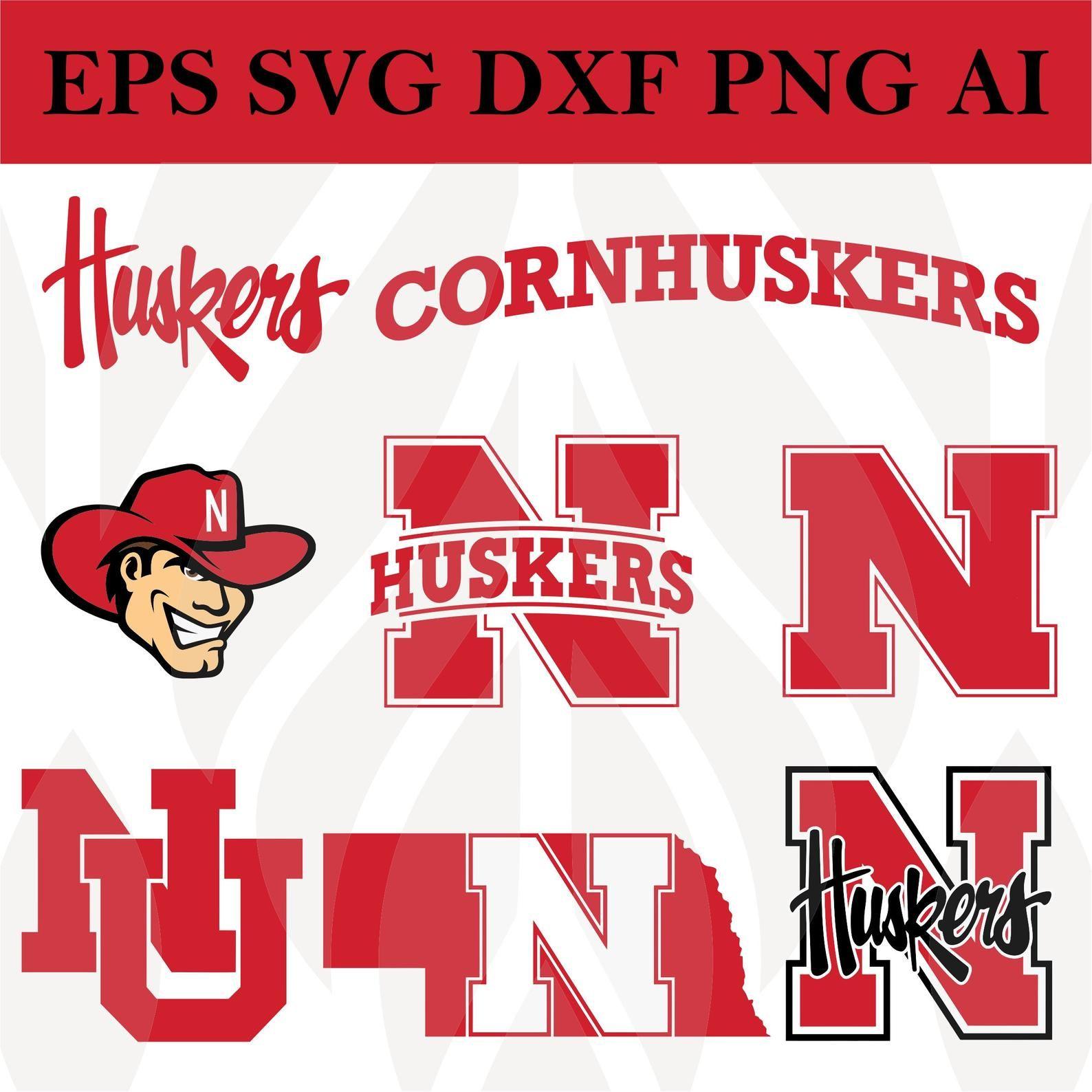 Nebraska Cornhuskers Svg Football Svg files for cricut