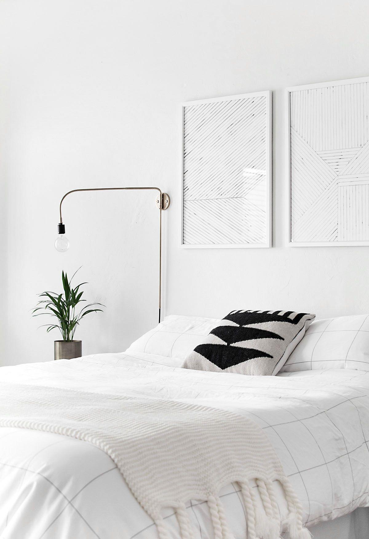 How To Achieve A Minimal Scandinavian Bedroom Modern