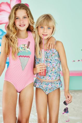 Buy Bloom Ditsy Tankini 3 16yrs From The Next Uk Online Shop