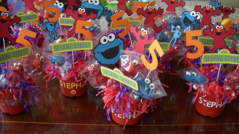 Elmo centerpiece