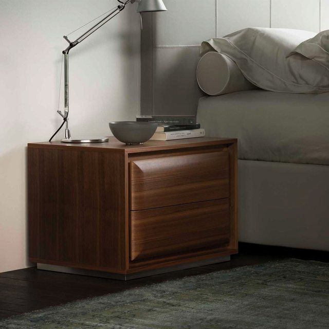 Hamilton Bedside Table by Porada Man rooms Pinterest Man room