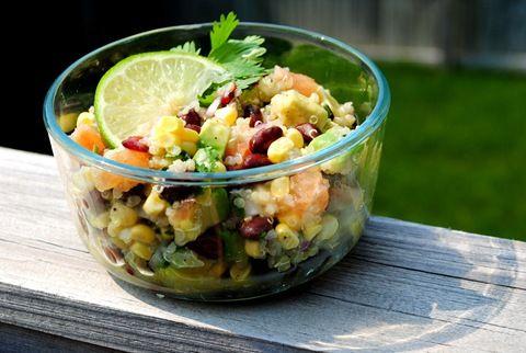 Black Bean, Quinoa & Citrus Salad by iowagirleats #Salad #Quinoa #Citrus #iowagirleats