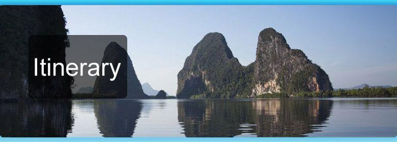 Sailing cruise in Phuket, tour to Phi Phi, Raya, Phang Nga