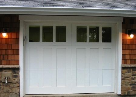 Hand Made Custom Carriage Garage Door And Real Carriage House Garage Doors By Vi Carriage In 2020 Garage Door Styles Carriage House Doors Craftsman Garage Door