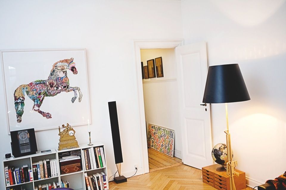 Så lækkert kan man bo med kunst | Boligmagasinet.dk