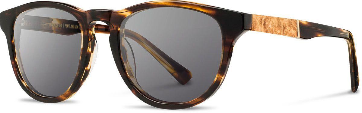 a44aac9290a6 Shwood - Francis Acetate Tortoise   Grey Sunglasses