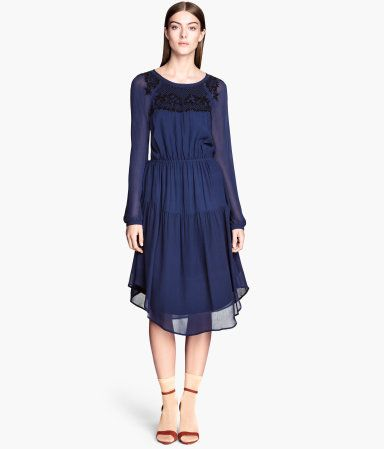 """Is """"Game of Thrones"""" your favorite show right now? Get inspired and try out this embroidered dress from H&M!"""