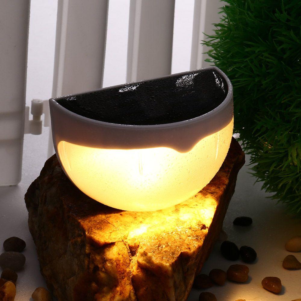 ledertek brand waterproof ip55 6 led solar lamp power garden led