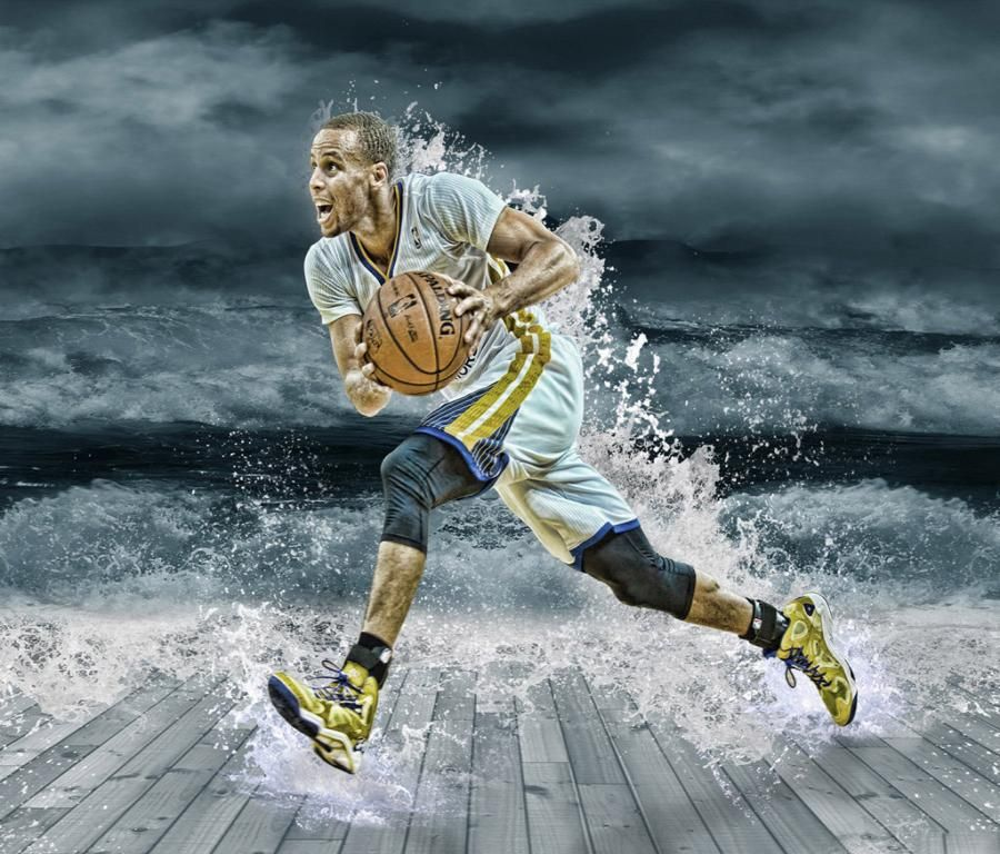 Download Stephen Curry Splash Wallpapers In High