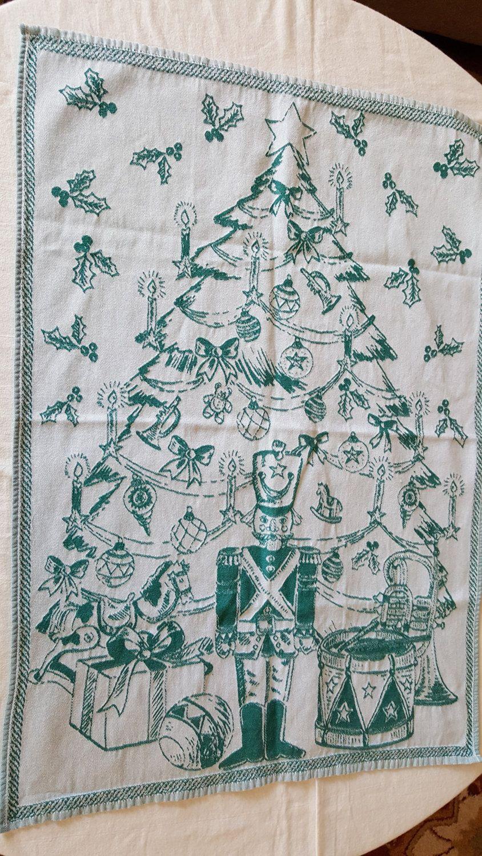 Tea Dish Kitchen Towel CASA FINA Cecil Saydah Co. Egypt. Christmas ...