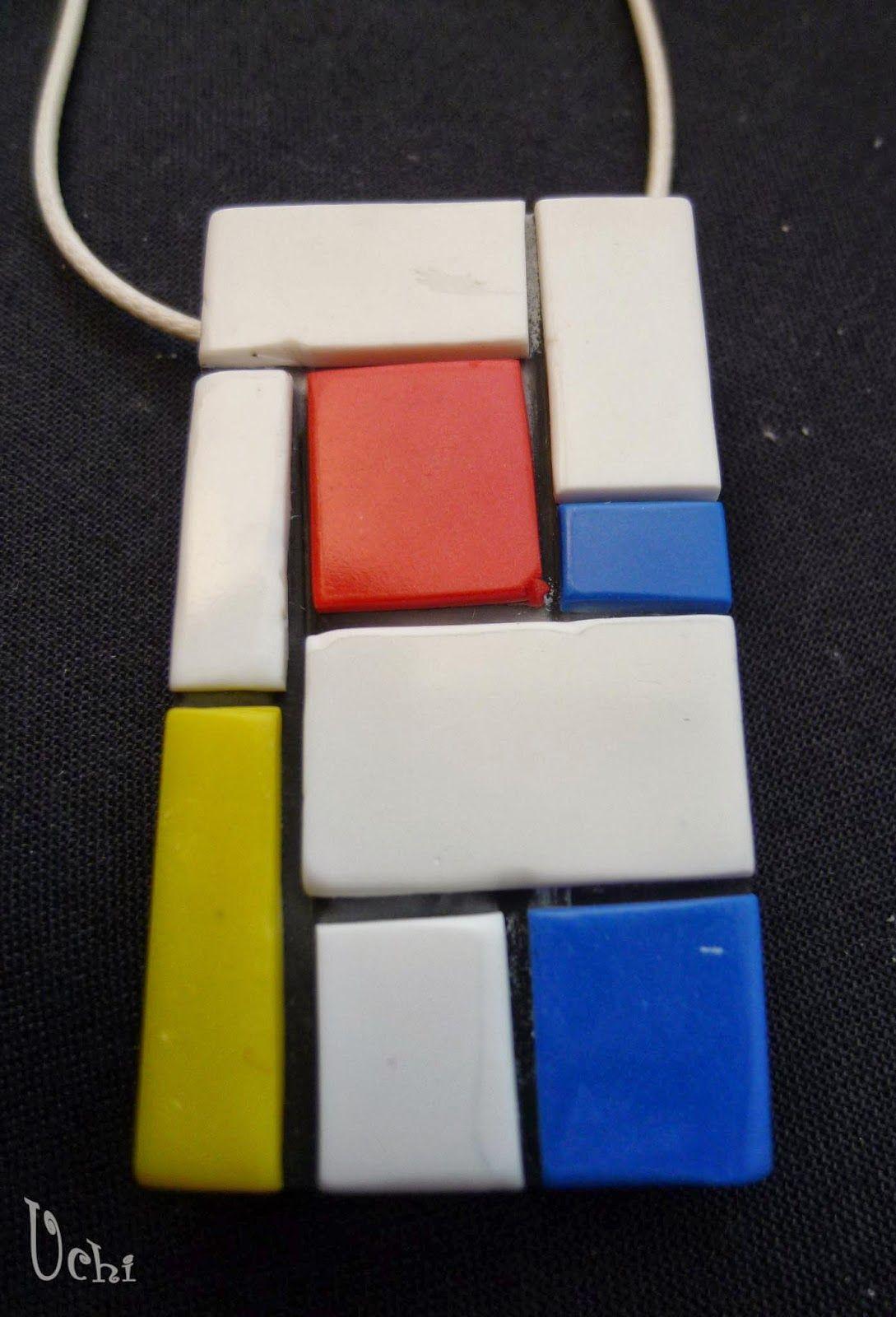 MONDRIAN  - Arcilla polimérica, Polymer Clay | Uchi