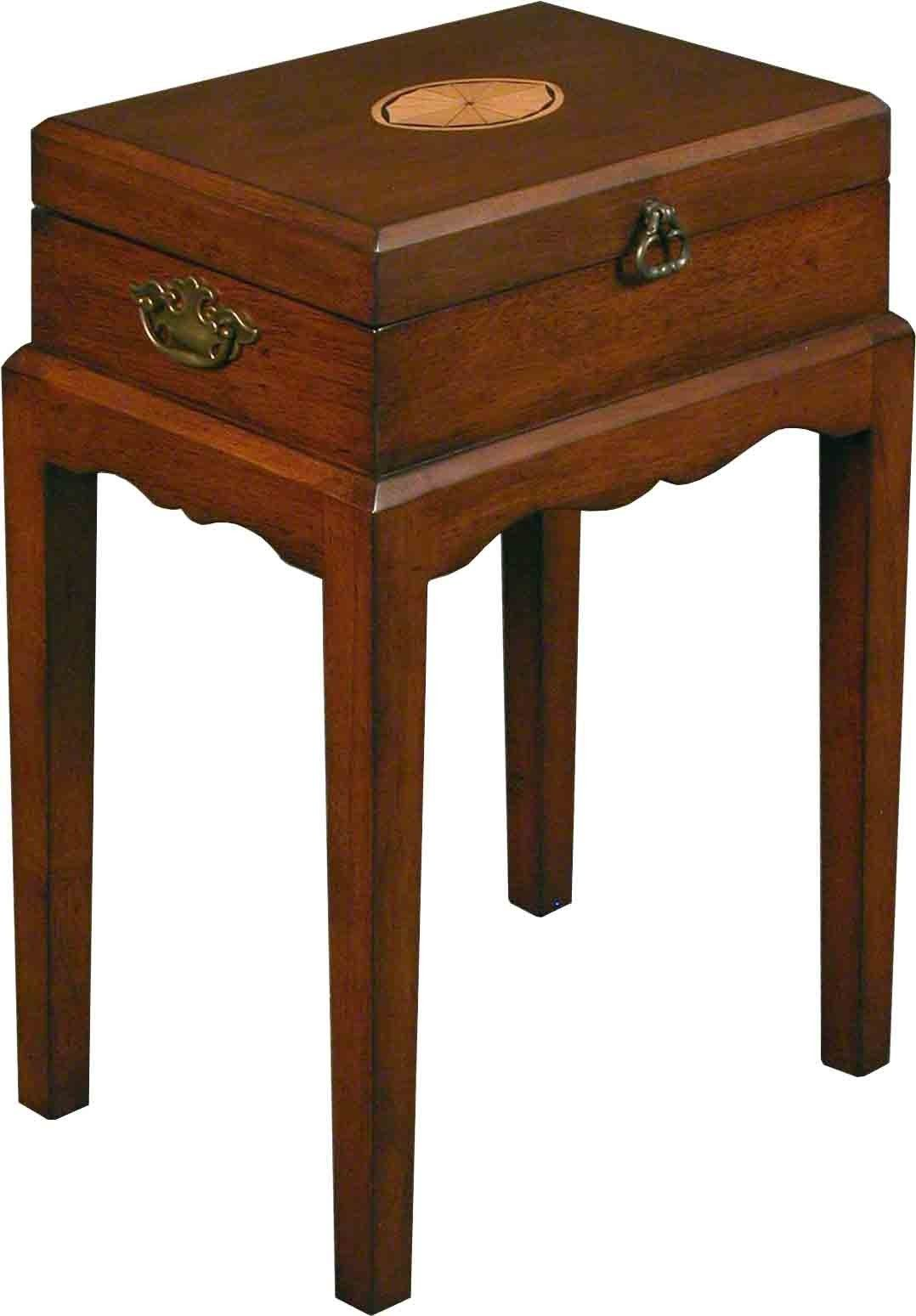 Mahogany chair side table with hinged top chair side table mahogany chair side table with hinged top geotapseo Images