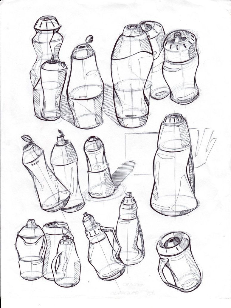 Student Example For Line Shape Form Design Sketches By Josepa On Deviantart