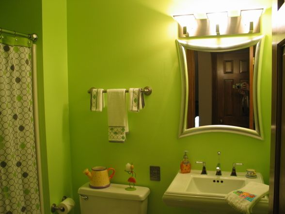 lime green bathroom repost  green bathroom green