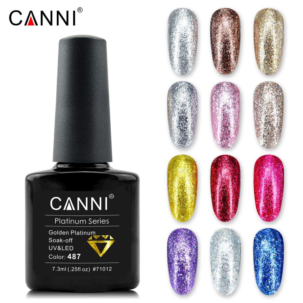 2018 Nail art Farbe Farben Lack CANNI Nail art Glitter diamant ...