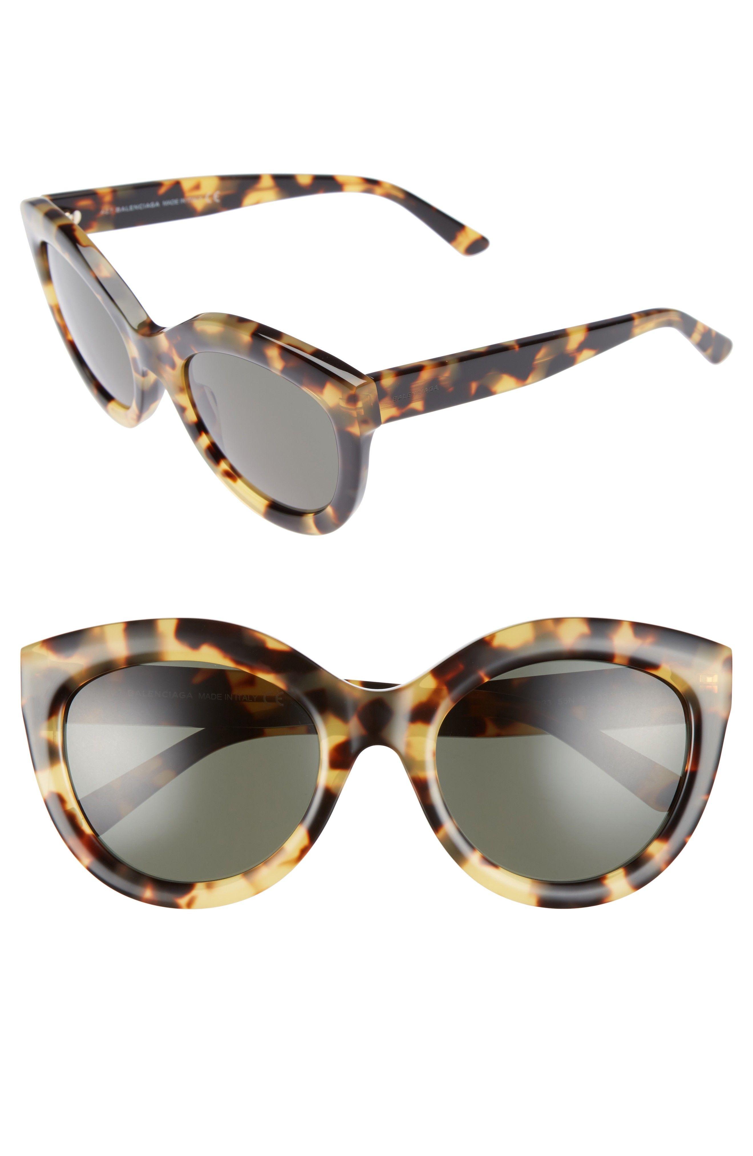 29bd12fc41 balenciaga tortoiseshell cat eye sunglasses