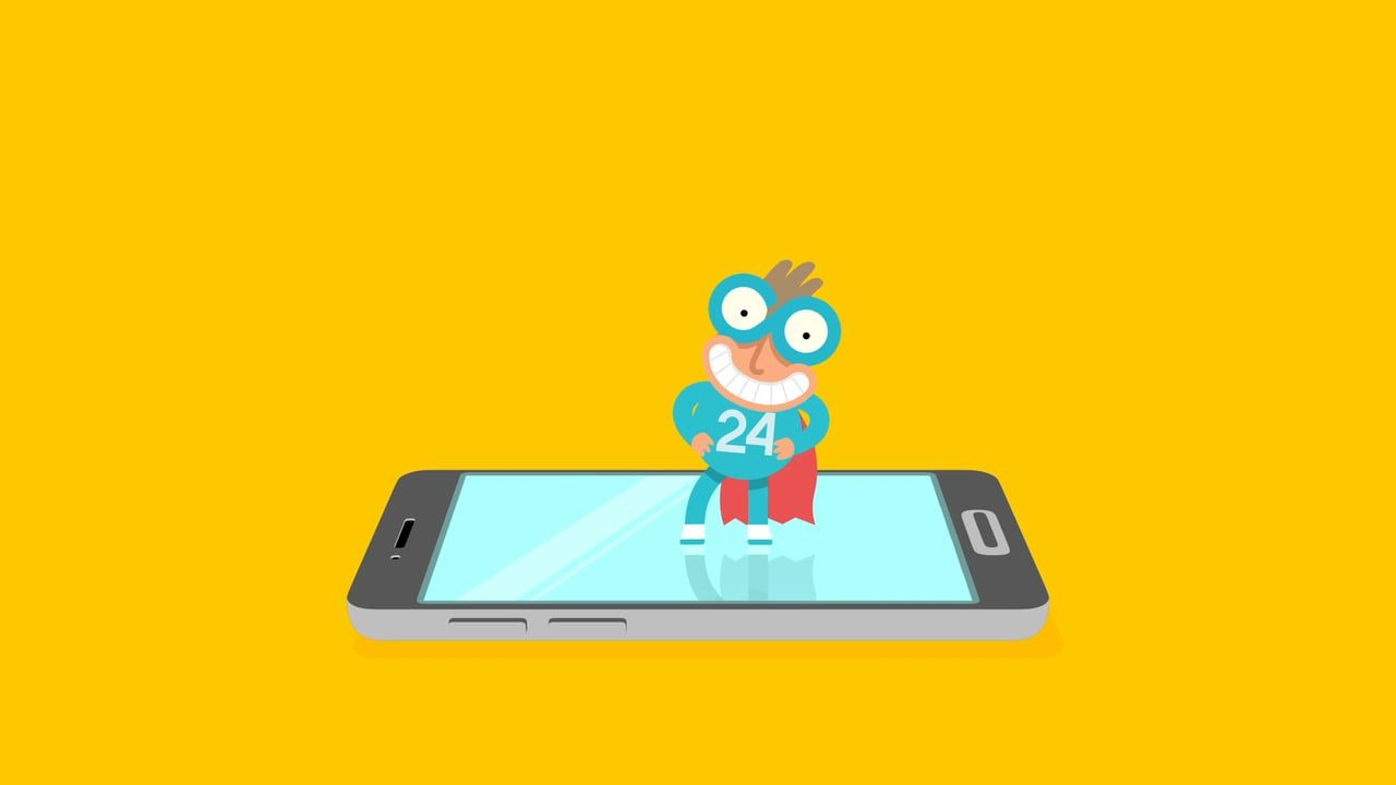 CJG24 Magazine's superhero will guide you while you spend your free time at the movies, gigs, in clubs and restaurants.  Cute character design by Pawel Borowski. Animation by stage2.pl