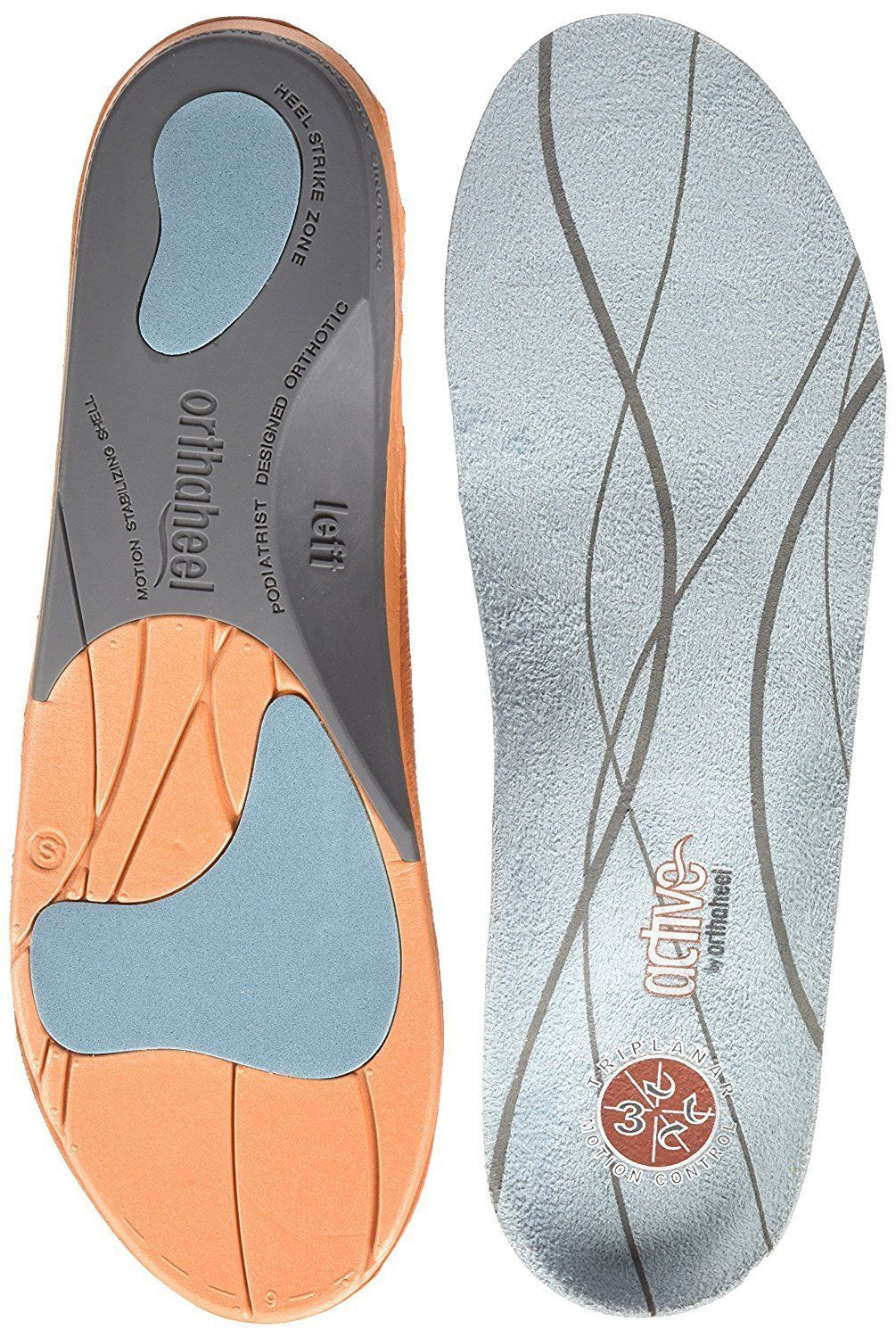 b5e27ab56994 Shoe Insoles 169284  New Orthaheel Relief Full Length Orthotic Insole Small  Mans 5.5-7 Womans 6.5-8 -  BUY IT NOW ONLY   34.04 on eBay!