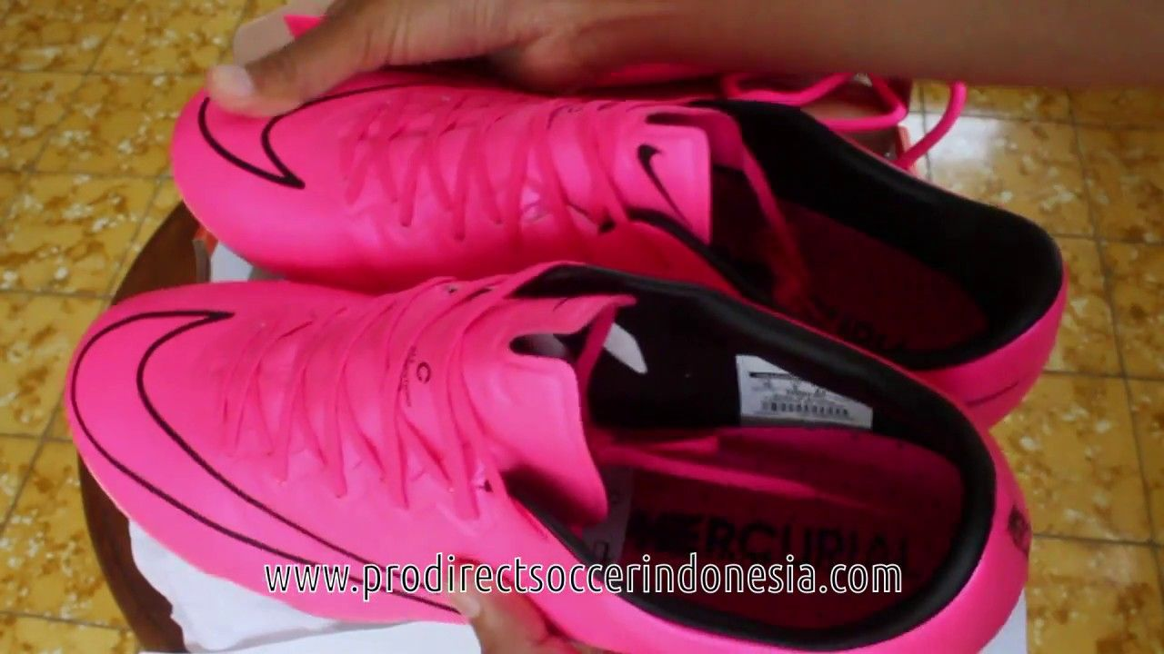 Sepatu Bola Nike Mercurial Vapor X Sg Hyper Pink 648554 661