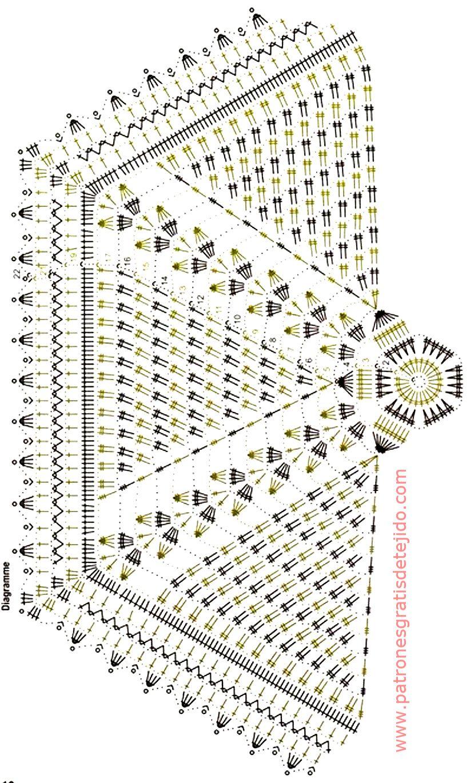 patron-tunica-bohemia.jpg 822×1.370 pixels | catiana crochet ...