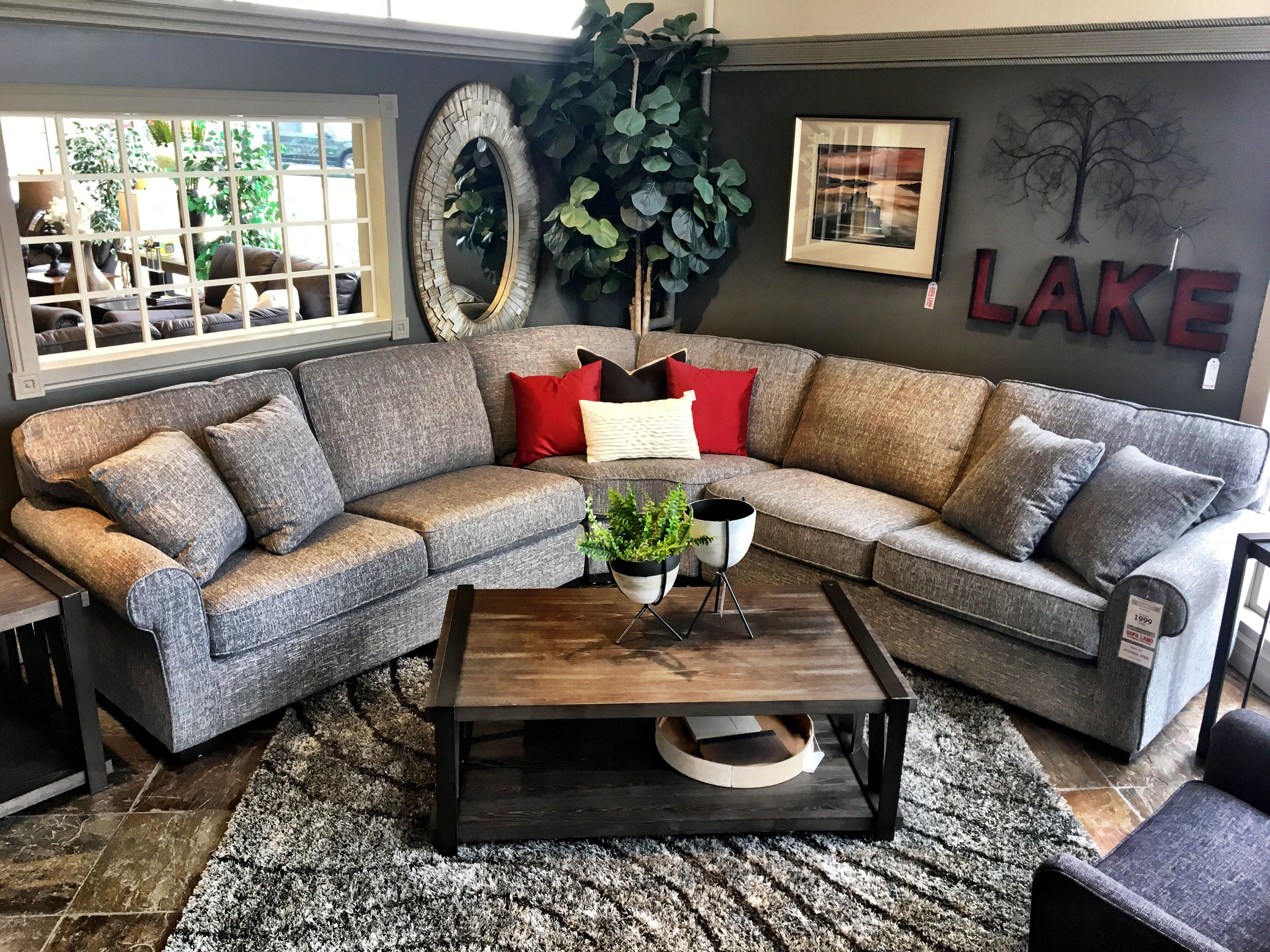 Pleasant This Beautiful Oversized Sectional Just Arrived At Sofa Land Theyellowbook Wood Chair Design Ideas Theyellowbookinfo