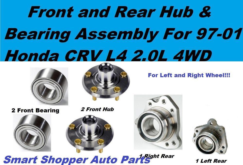 Front Rear Hub And Bearing Assembly For Honda Crv 97 01 L4 2 0l 4wd Left Right China Honda Crv Honda 4wd