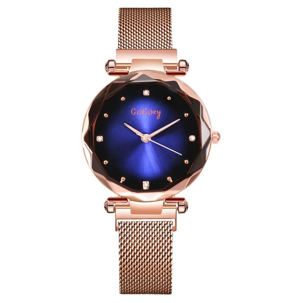 Gogoey Brand New Women Watch Stainless Steel Magnet Strap Women