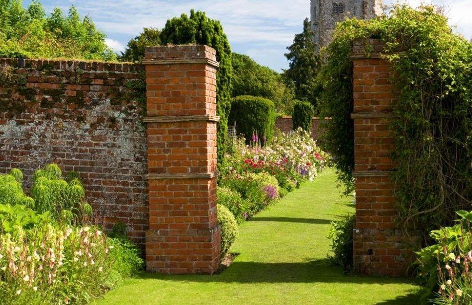 The Walled Garden At Goodnestone Park